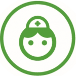 Comprehensive wound care therapy icon