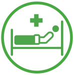 Post operative care icon