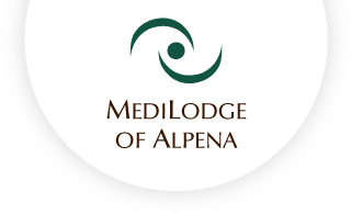 Medilodge of alpena web logo